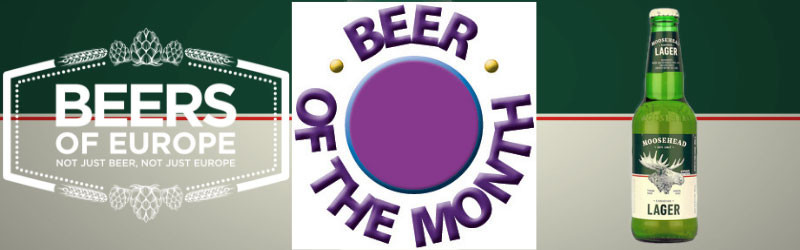 Moosehead Lager Canadian Beer