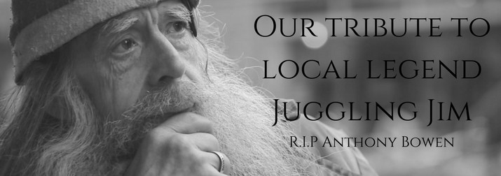 Local Legend Juggling Jim Tribute Beers