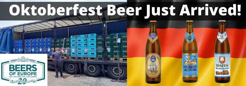 Oktoberfest Beer Arrives