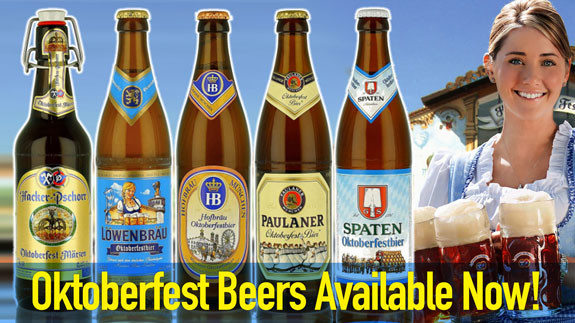Oktoberfest beers Arrive Early