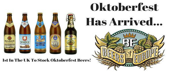 Oktoberfest Beers Early Arrival