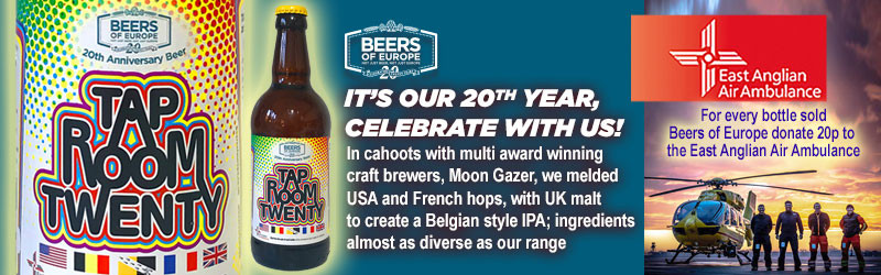 Tap Room Twenty 20th Anniversary Beer