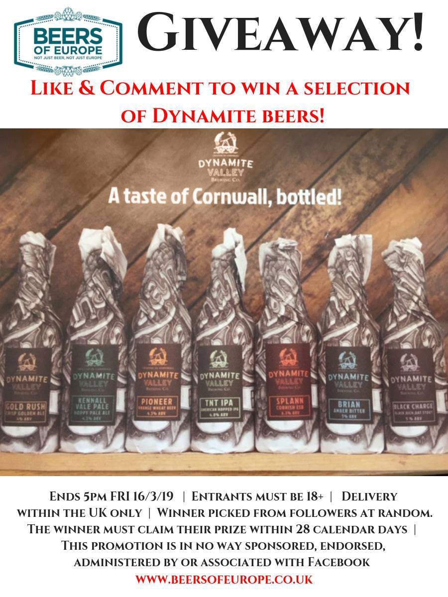 Dynamite Brewery Giveaway