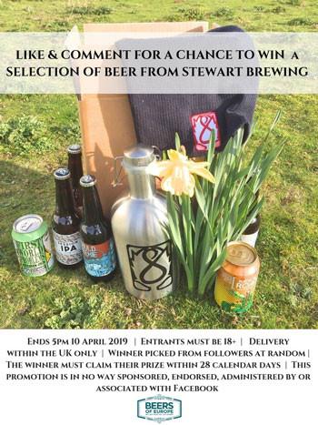 Stewart Brewing Giveaway