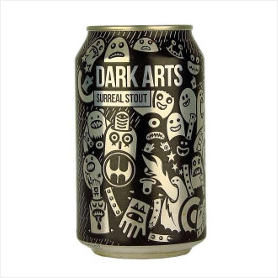 Magic Rock Dark Arts Stout Beer Review