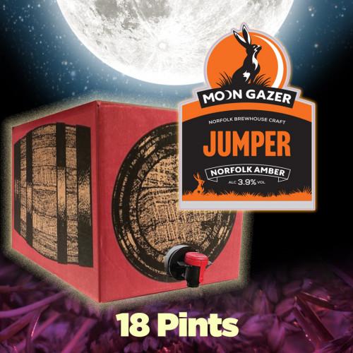 Moon Gazer Jumper Amber Ale 18 Pint Demipin