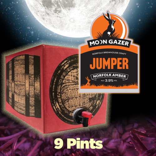 Moon Gazer Jumper Amber Ale 9 Pint Polypin