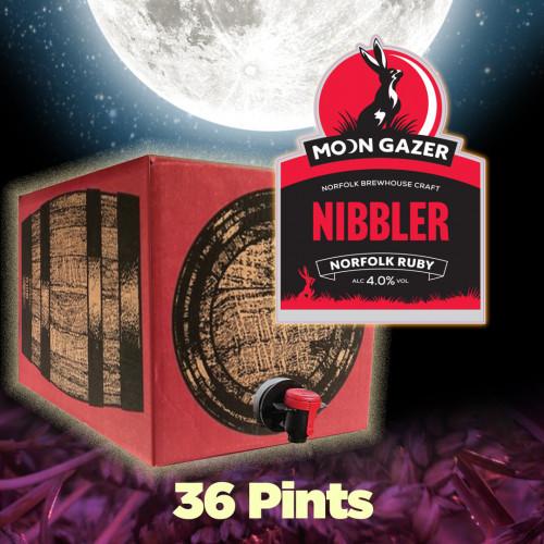 Moon Gazer Nibbler Ruby Ale 36 Pint Polypin