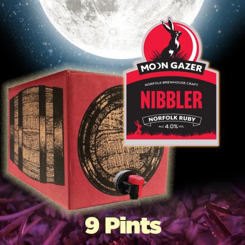 Moon Gazer Nibbler Ruby Ale 9 Pint Polypin