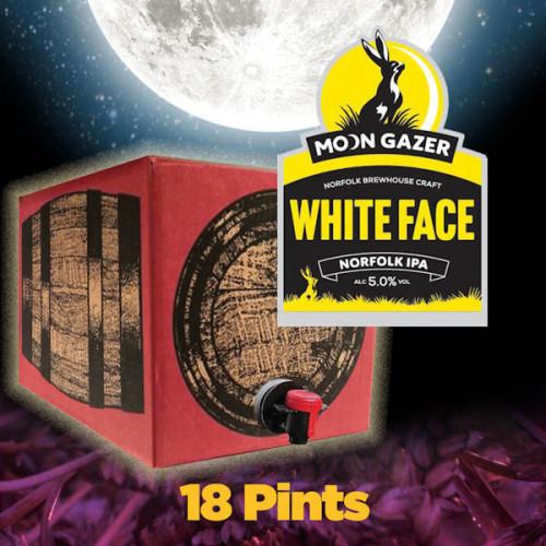 Moon Gazer White Face 18 Pint Demipin