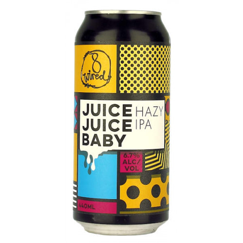 8 Wired Juice Juice Baby 440ml Can