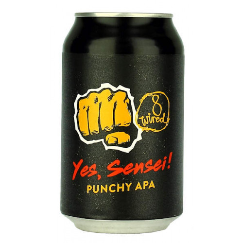 8 Wired Yes Sensei 330ml Can