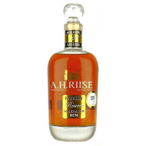 A H Riise Family Reserve Solera 1838 Rum