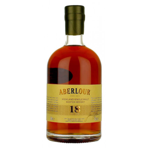 Aberlour 18 year old Single Highland Malt 500ml