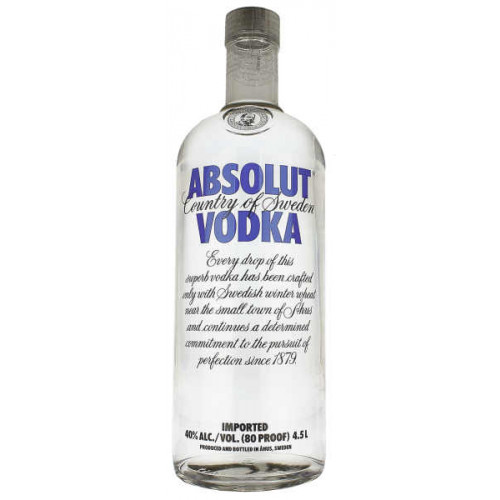 Absolut Vodka 4.5 Litre