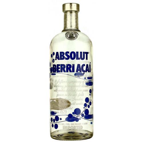 Absolut Berry Acai Vodka 1 Litre