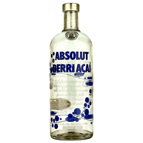 Absolut Berry Acai Vodka 1 Litre