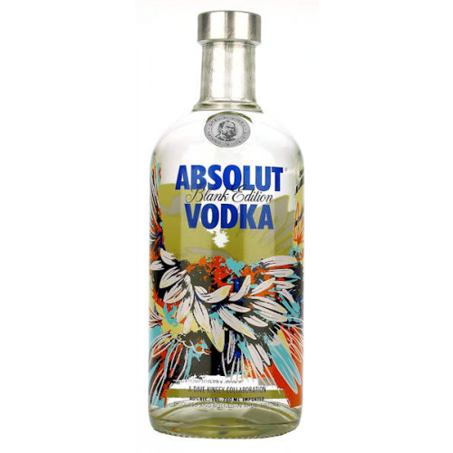 Absolut Vodka Blank Edition