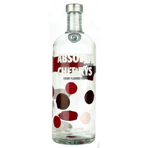 Absolut Cherrys Vodka 1 Litre