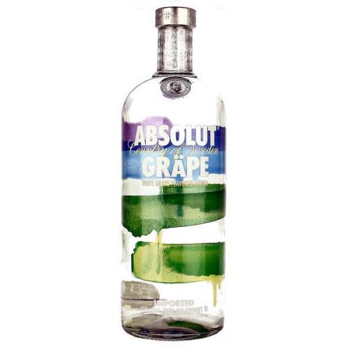 Absolut Grape Vodka 1 Litre