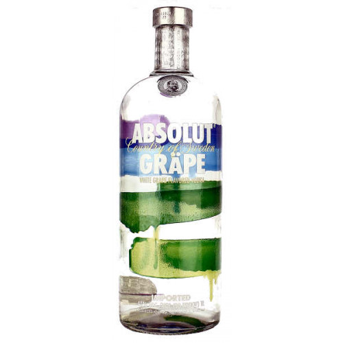 Absolut Grape Vodka 1 Litre