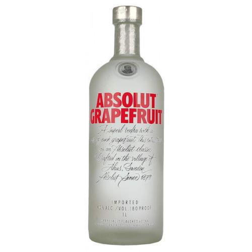 Absolut Grapefruit Vodka 1 Litre