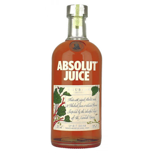 Absolut Rhubarb Juice Edition
