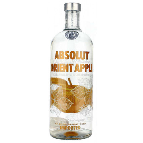 Absolut Orient Apple Vodka 1 Litre
