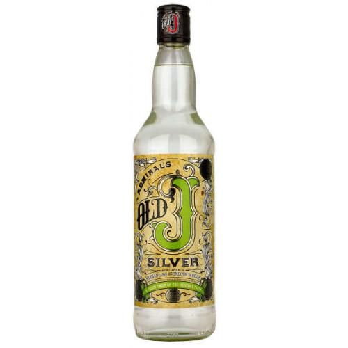 Admirals Old J Silver Rum