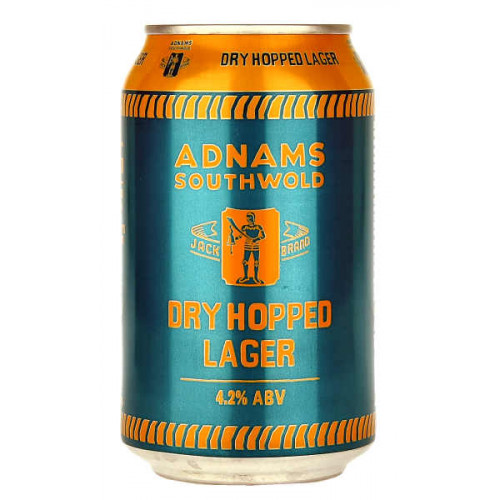 Adnams Jack Brand Dry Hopped Lager Can