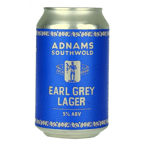 Adnams Jack Brand Earl Grey Lager Can