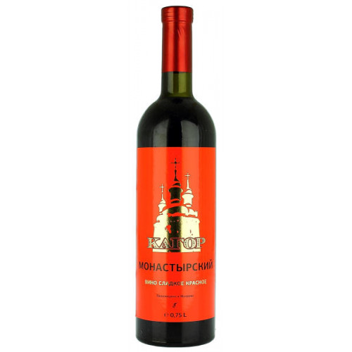 Agrovin Bulboaca Kagor Monastirskiy Red Label