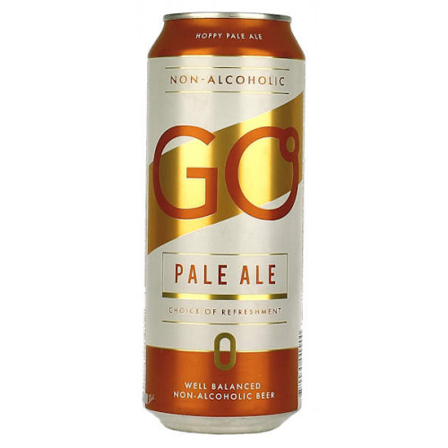 Aldaris Go Pale Ale Non-Alcoholic Can