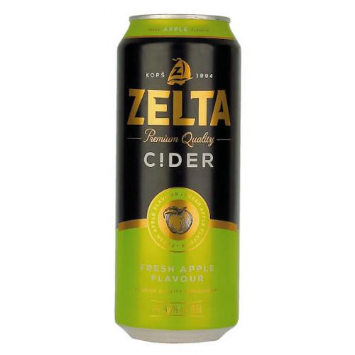 Aldaris Zelta Cider Can