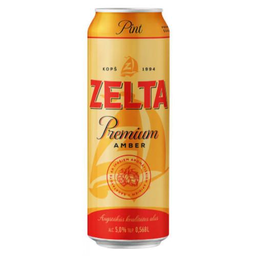 Aldaris Zelta Premium Amber Can