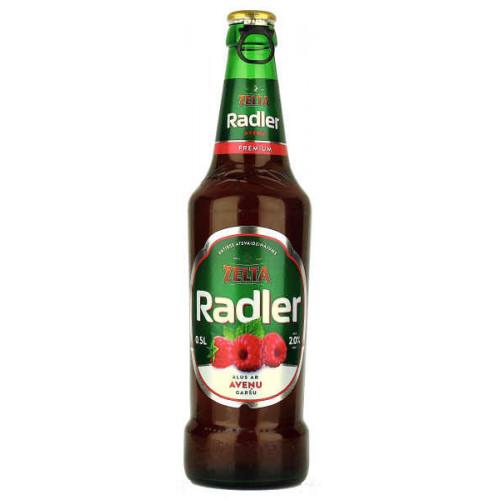 Aldaris Zelta Radler Raspberry