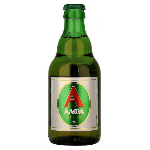 Alfa Hellenic Beer 330ml (B/B Date End 06/19)
