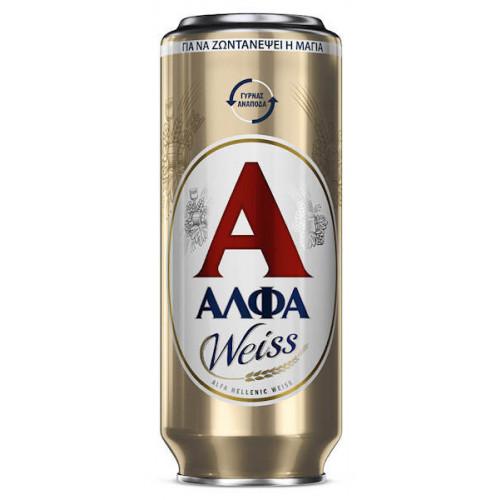 Alfa Hellenic Weiss Beer Can