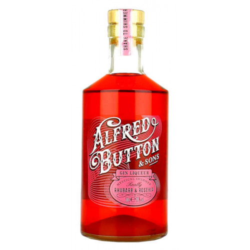 Alfred Button Rhubarb and Rosehip Gin Liqueur