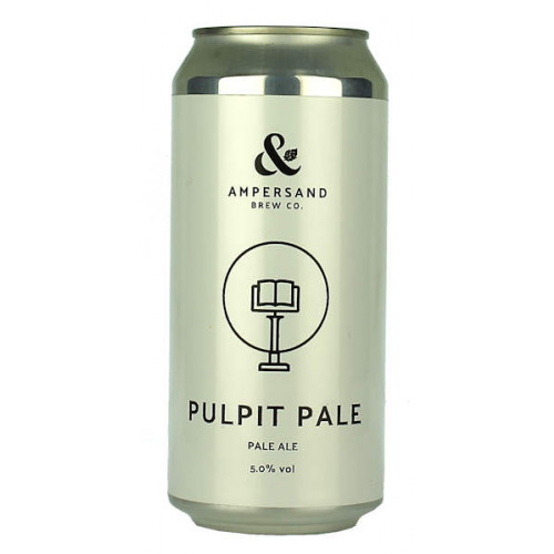 Ampersand Pulpit Pale Can