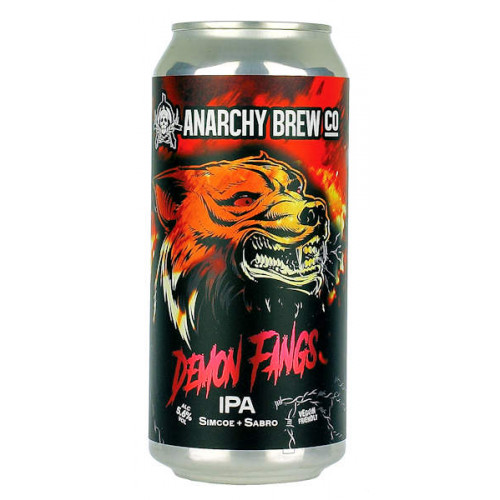 Anarchy Demon Fangs IPA Can