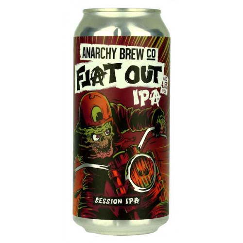 Anarchy Flat Out IPA Can