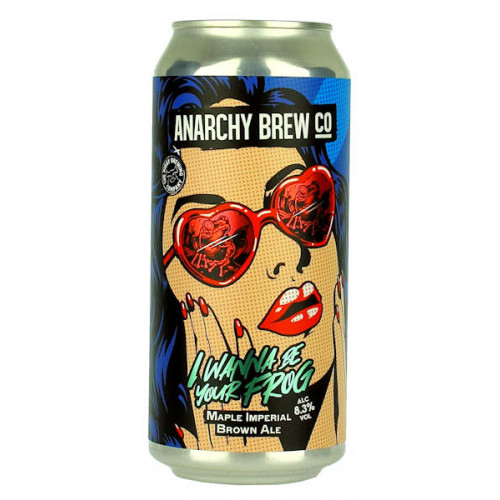 Anarchy/The Piggy Brewing Co. I Wanna Be Your Frog