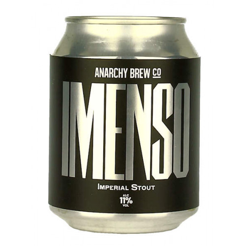 Anarchy Imenso Imperial Stout Can