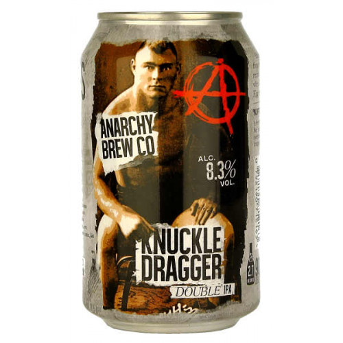 Anarchy Knuckle Dragger IPA Can