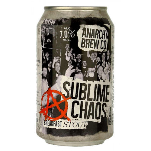 Anarchy Sublime Chaos Breakfast Stout Can