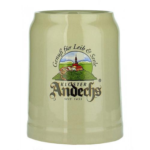 Andechs Pottery Stein Cream 0.5L