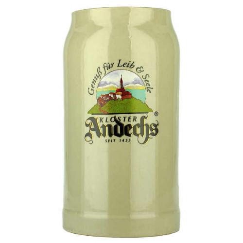 Andechs Pottery Stein Cream 1L