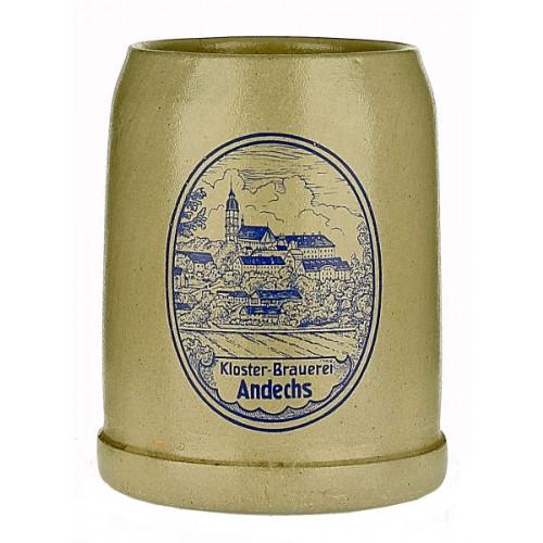 Andechs Pottery Stein (Grey Saltglaze) 0.5L
