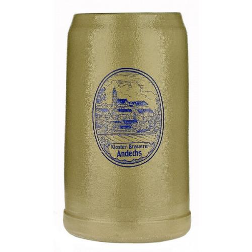 Andechs Pottery Stein (Grey Saltglaze) 1L